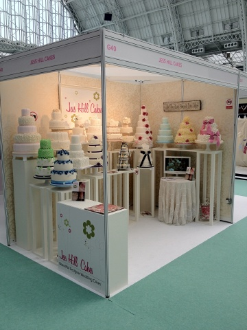 The National Wedding Show London Olympia Jess Hill Cakes